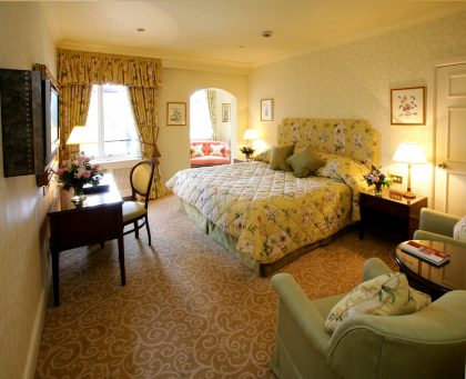 Chauffeur Driven Ireland Vacation - Ashford Castle Corrib Room