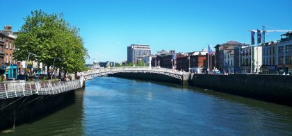 Chauffeur Driven Ireland Vacation - River Liffey Dublin