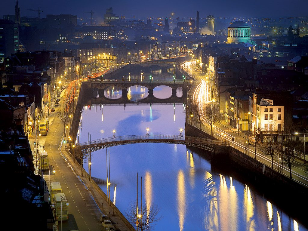 Ireland Self Drive Vacations - Dublin by Night