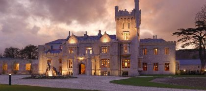 Ireland Castle Vacations - Lough Eske Castle