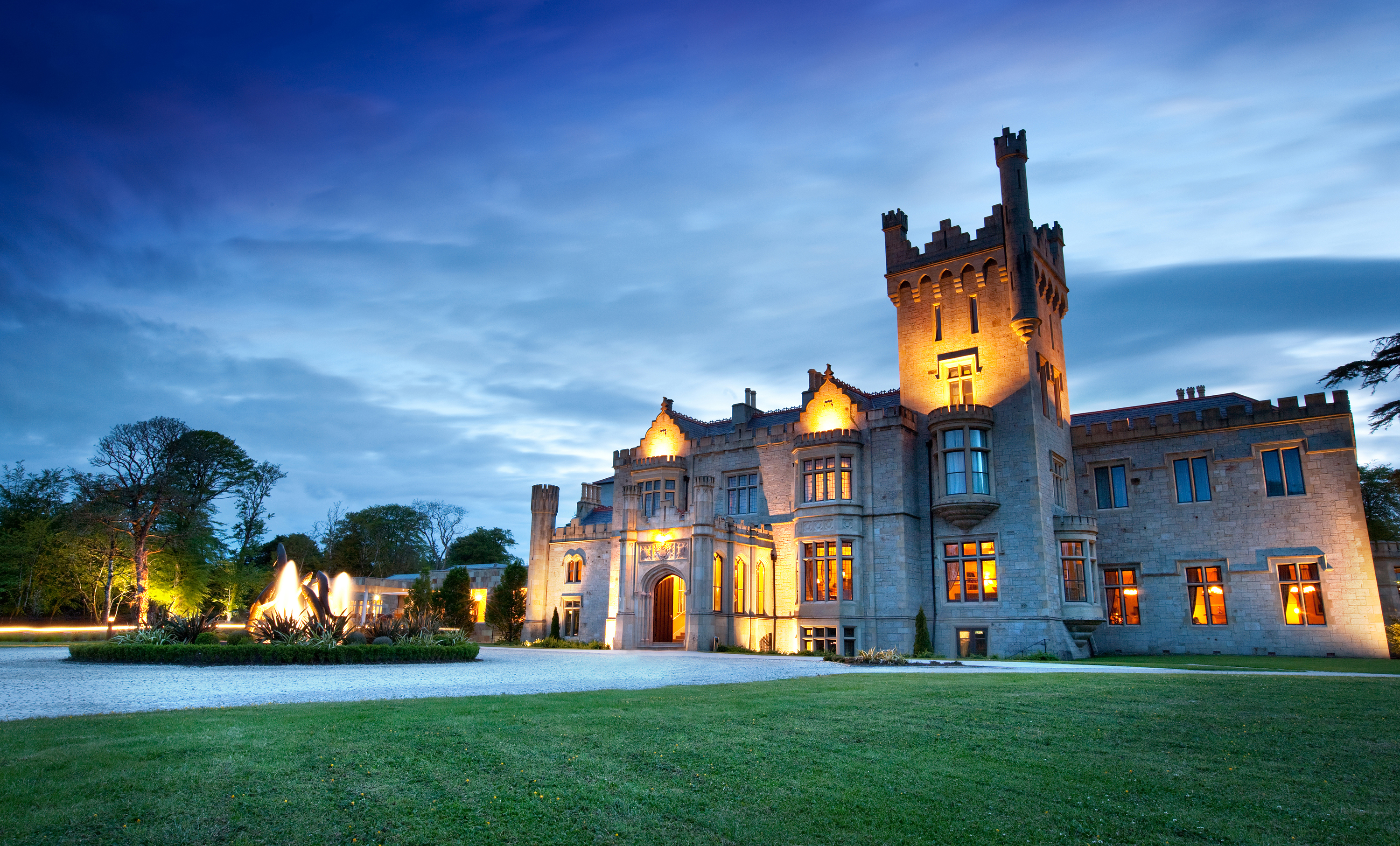Lough Eske Castle exterior