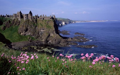 Ireland Castle Vacations - Dunluce Castle