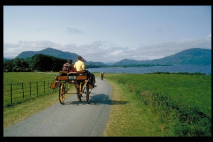 Ireland Self Drive Vacations - Jaunting Car Killarney