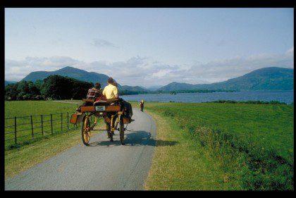Ireland Self Drive Vacations - Jaunting Car Killarney