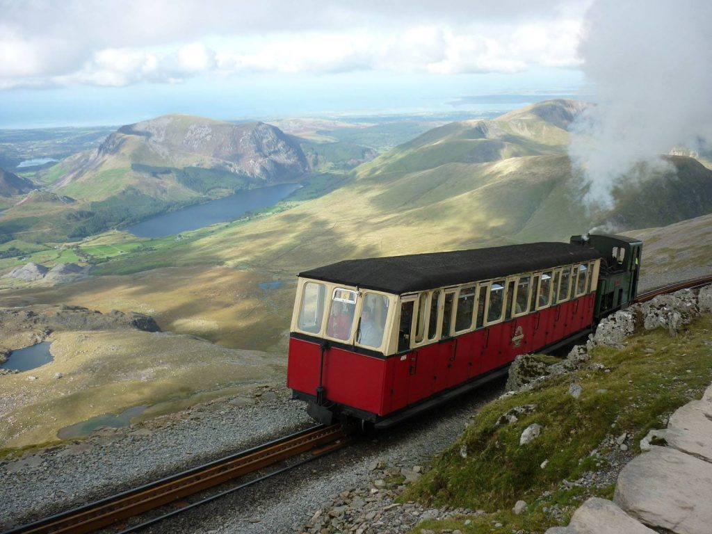 Wales Self Drive Vacations - Mt Snowdon Railway