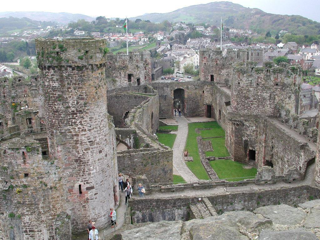Conwy Castle, the best of wonderful Wales