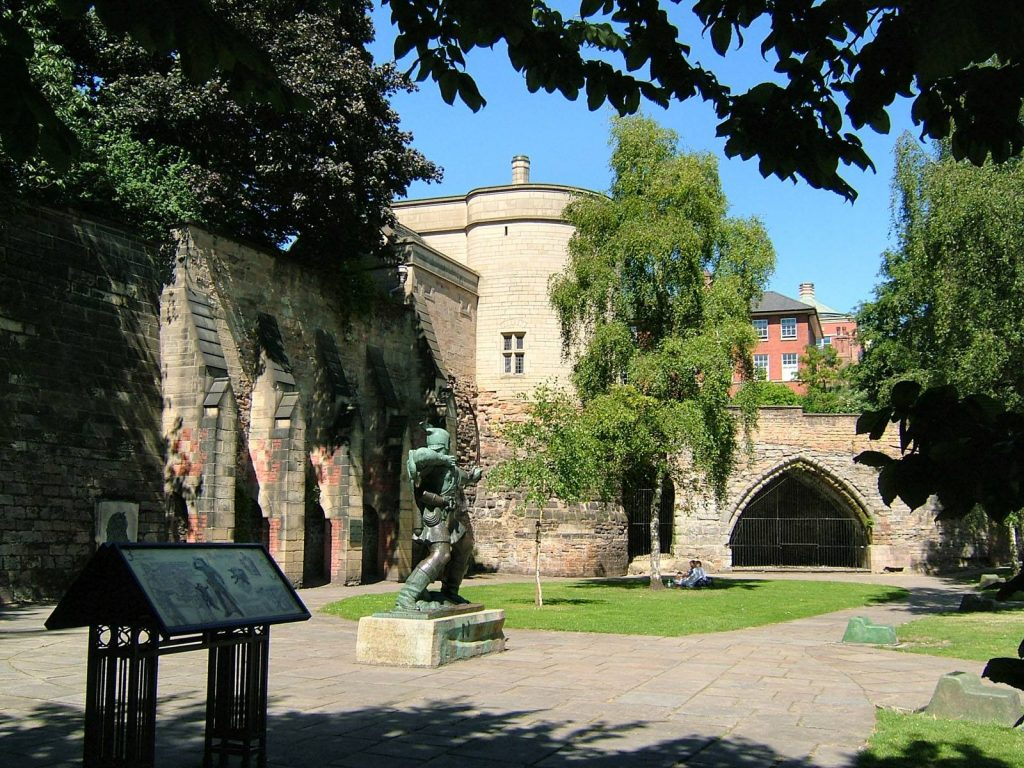 England Self Drive Vacations - Nottingham Castle
