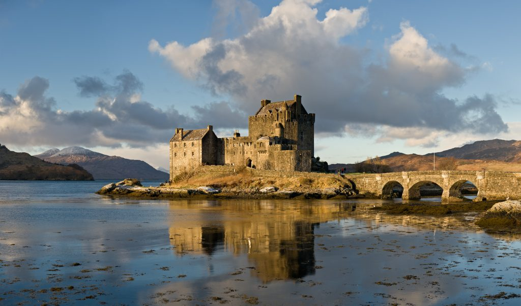 Scotland Self Drive Vacation - Eilean Donan Castle