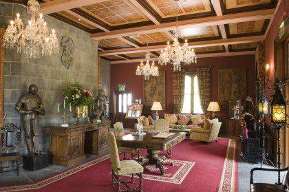 Ireland Castle Tour 2017 - Dromoland Castle Reception