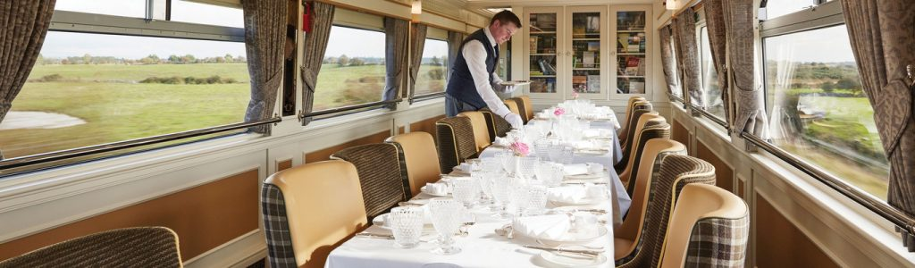Ireland Luxury Train Journeys, Dining Car