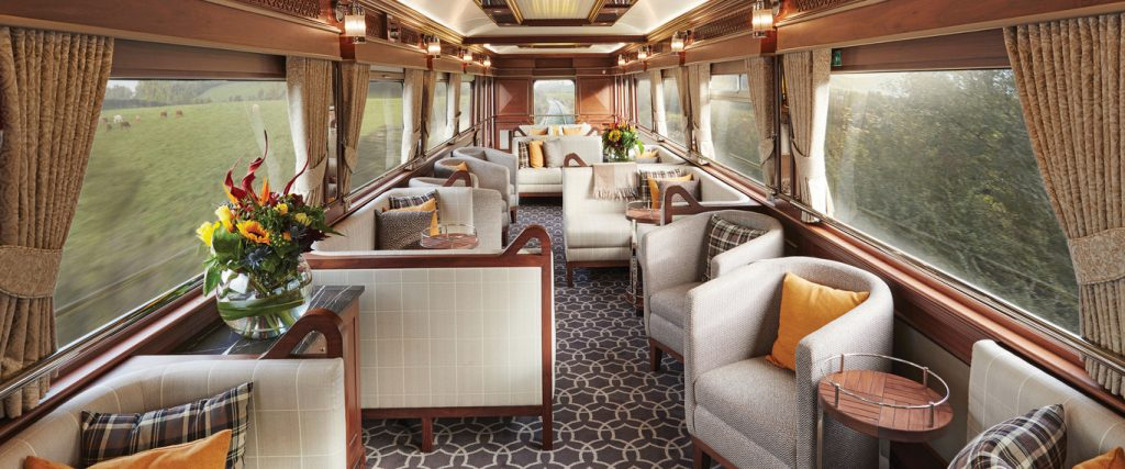 Ireland Luxury Train Journeys, Observation Car