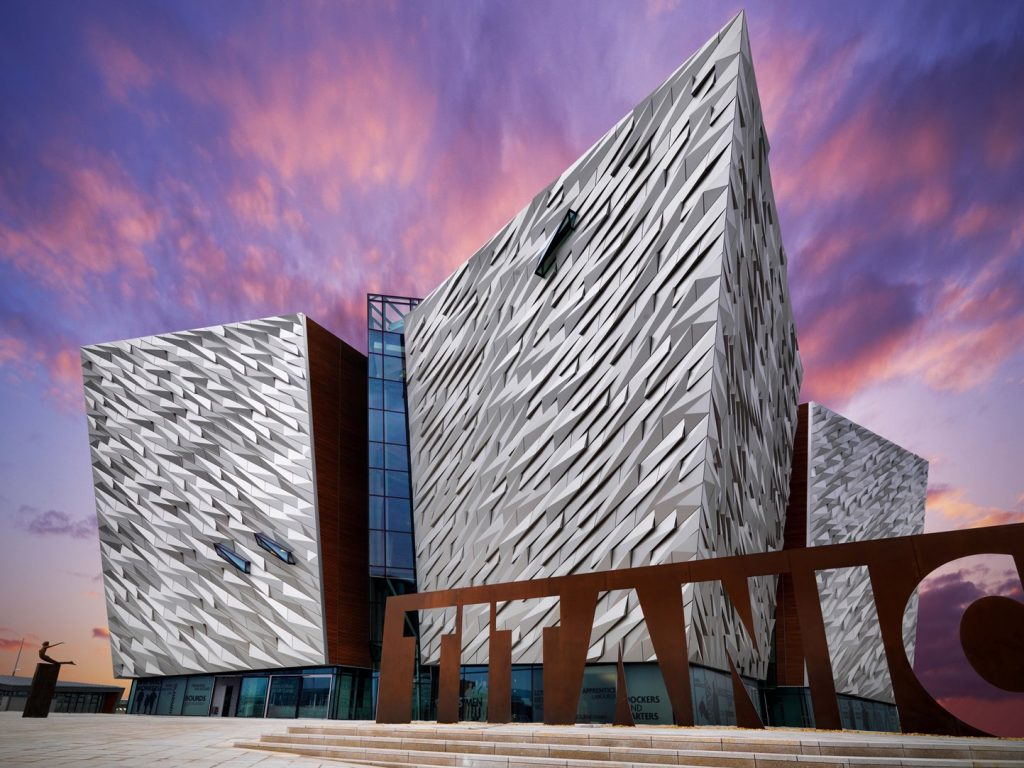 Ireland Luxury Train Journeys, Titanic Belfast