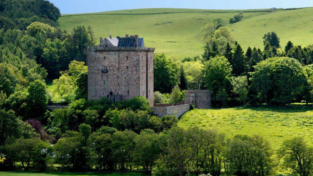 Exclusive Castle Rental Scotland - Borthwick Castle, Scotland