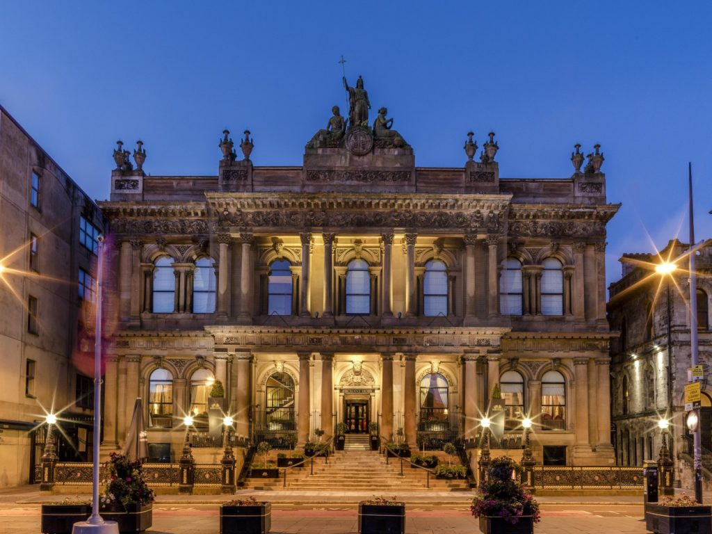 Ireland Chauffeur Driven Vacations, Merchant Hotel