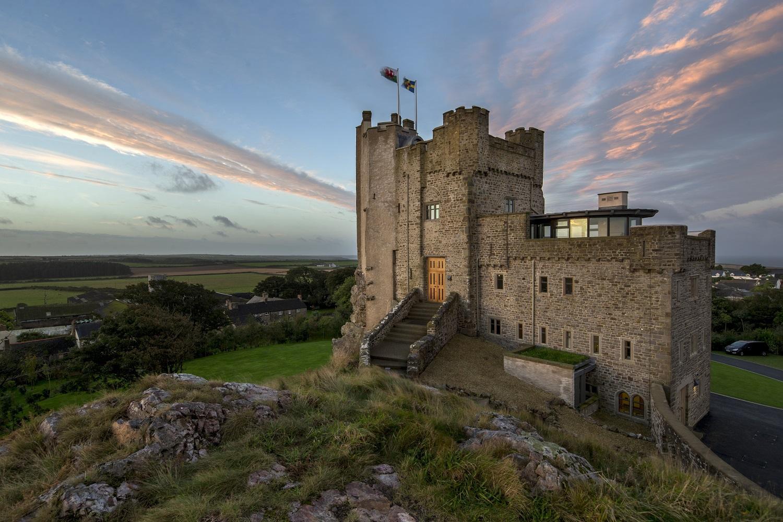 Roch Castle, the best of wonderful Wales