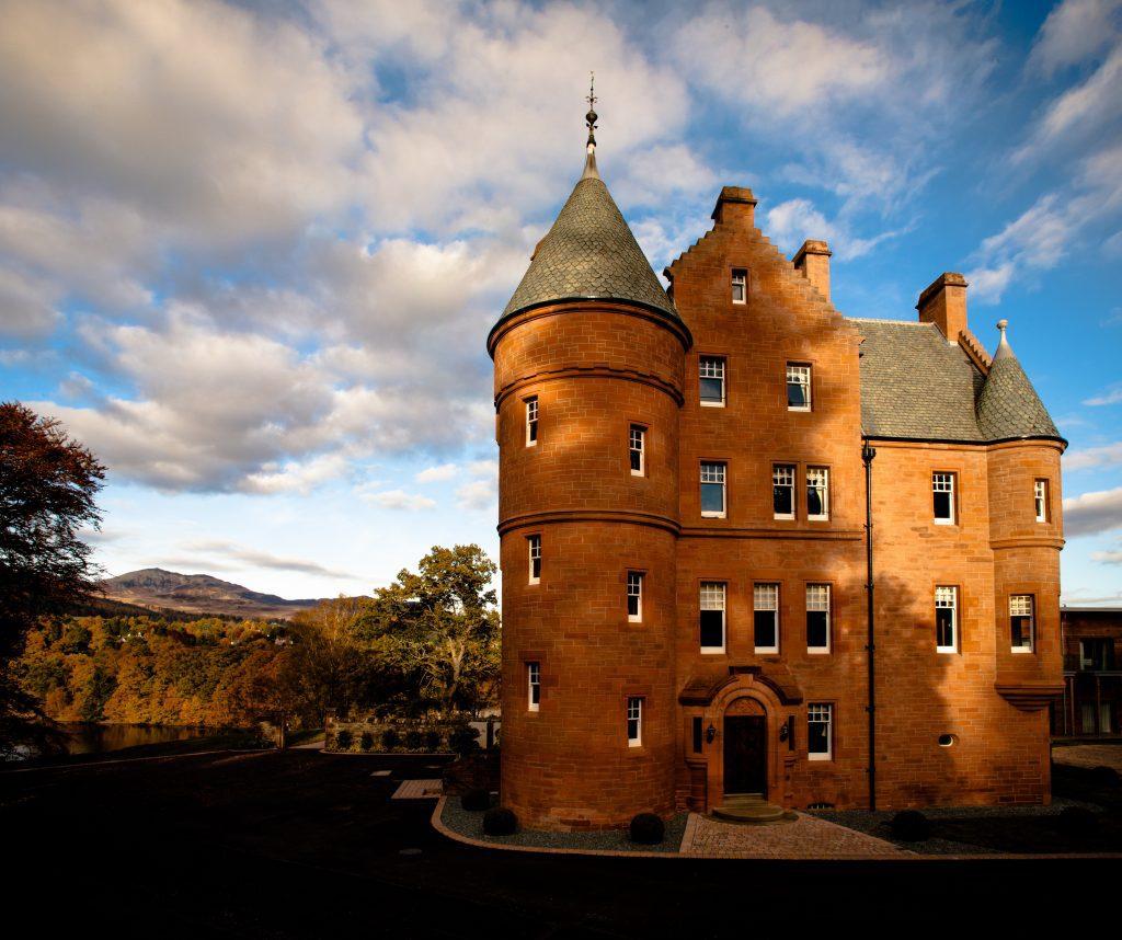 Escorted Scotland Castle Tour - Fonab Castle, Scotland