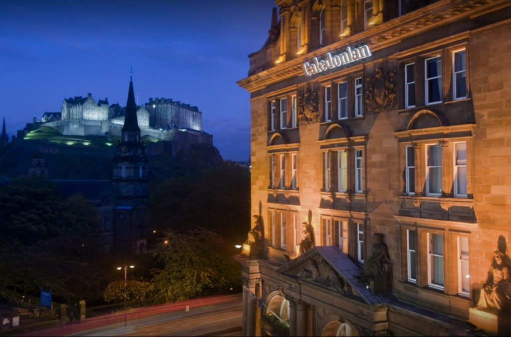 Scotland Honeymoon - Caledonian Hotel