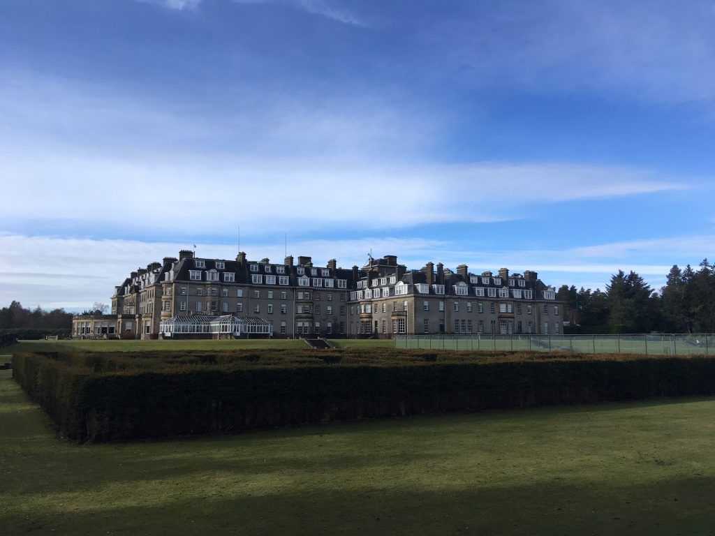 Scotland Honeymoon - Gleneagles Hotel