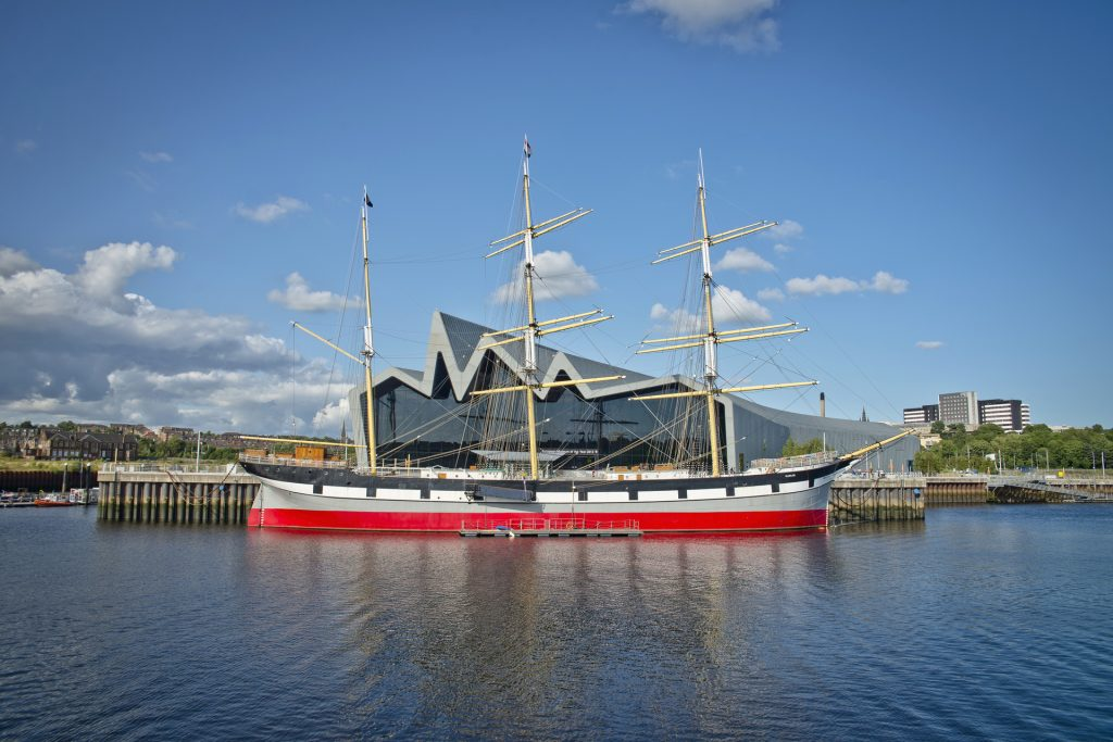 Scotland Chauffeur Driven Tours - River Clyde Tall Ship, Glasgow