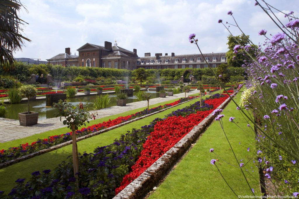 Honeymoons in England, Kensington Palace Gardens, London