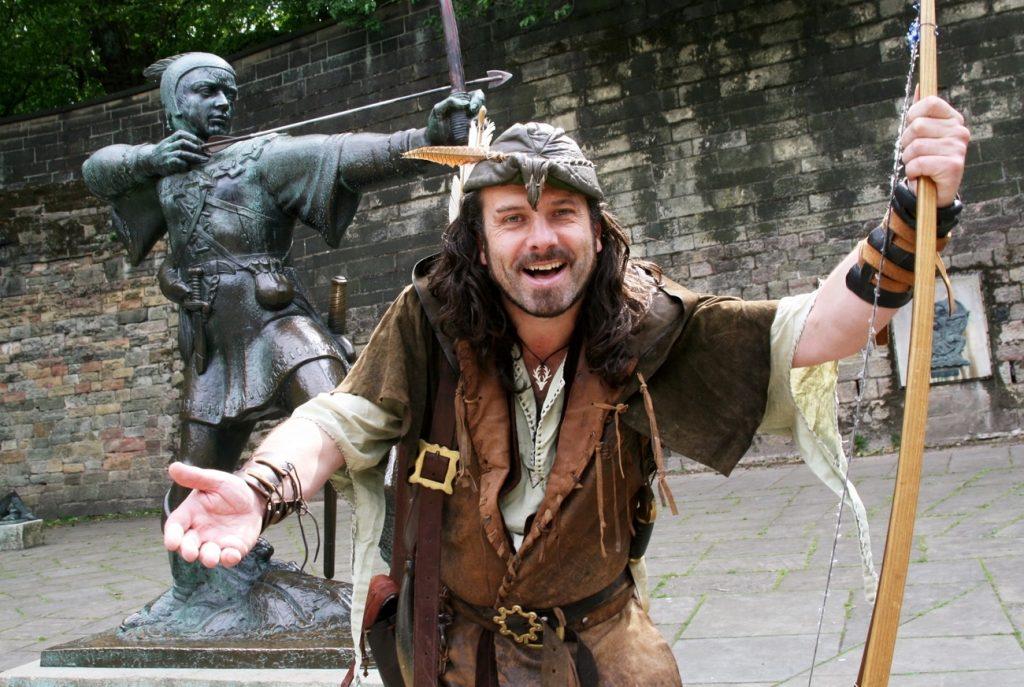England Chauffeur Driven Tour, Robin Hood Walking Tours, Nottingham