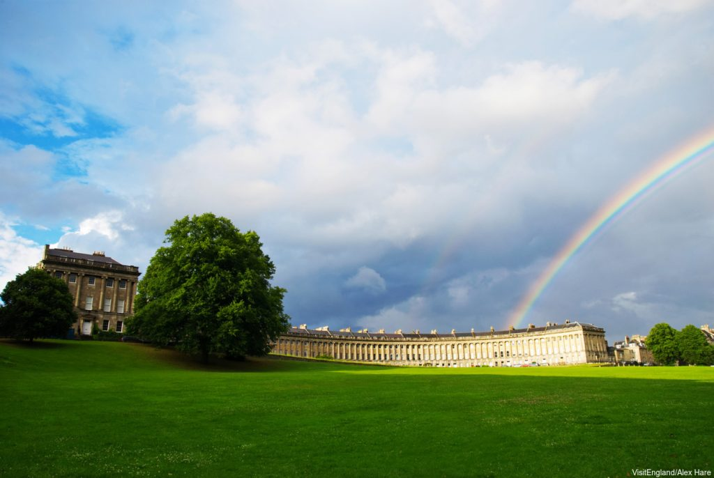 England Chauffeur Driven Tour, Royal Crescent in Bath