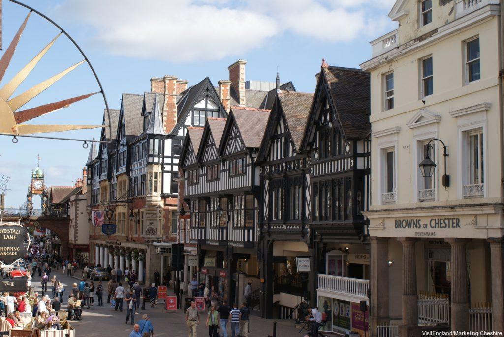 England Chauffeur Driven Tour, Chester