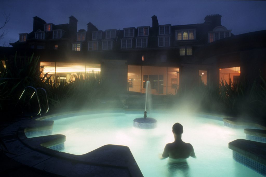 Scotland Honeymoon - Gleneagles Hotel SPA POOL AT GLENEAGLES
