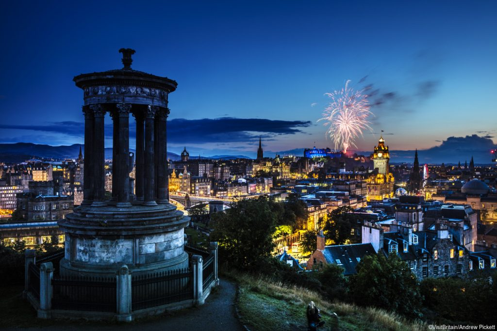 Scotland Group Tours - Edinburgh