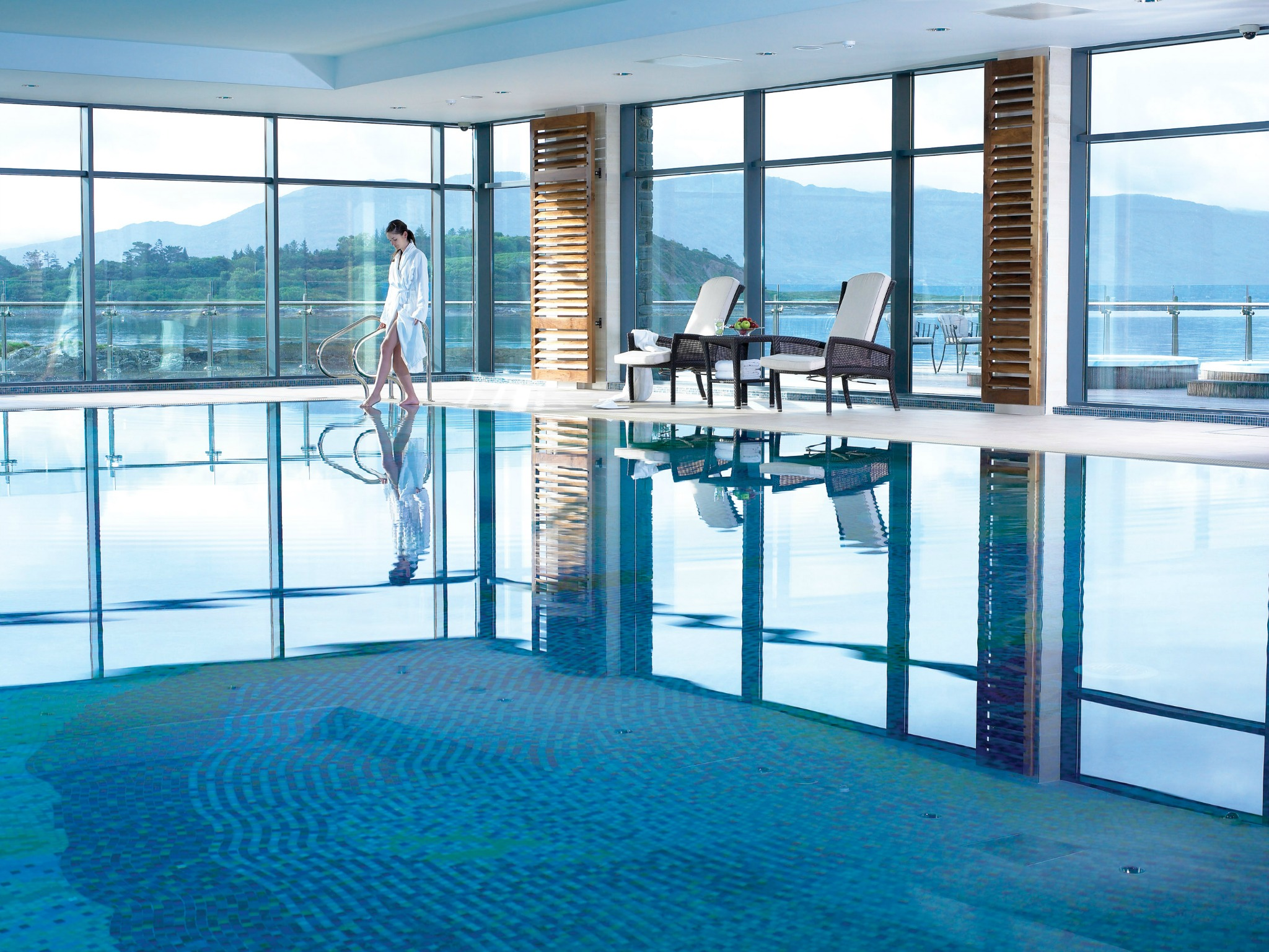 Parknasilla Swimming Pool, Wild Atlantic Way Accommodation