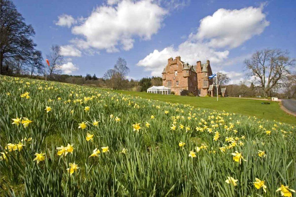 Escorted Scotland Castle Tour -Cringletie Estate, Scotland